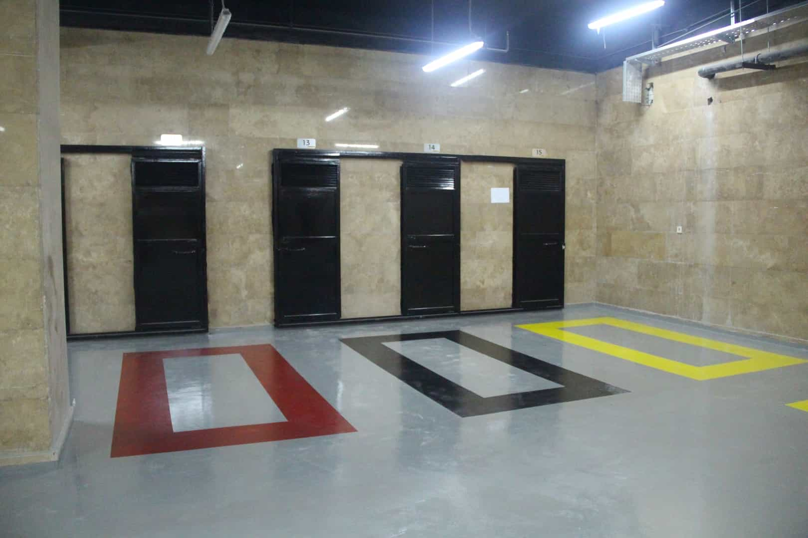 Floor, wall, ceiling and facade coverings